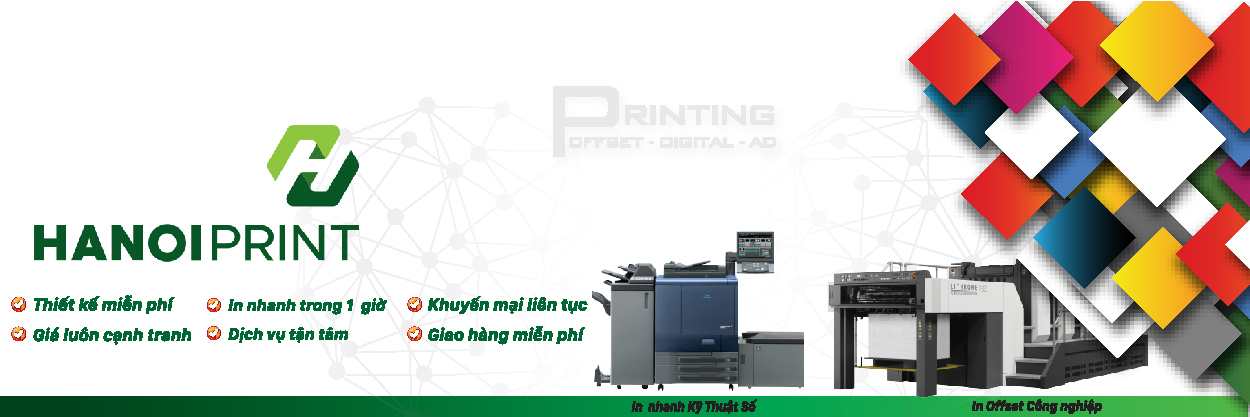 Hanoiprint in ấn chuyên nghiệp